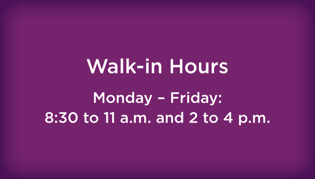 CCP Blairsville Walk-in hours