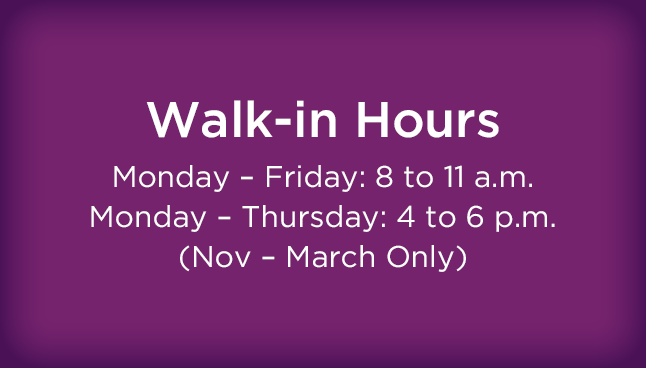 GIL Murrysville Walk-in Hours