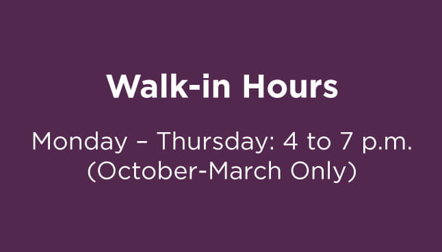 CCP Natrona Heights Walk-in hours