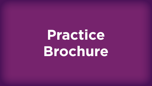 Practice brochure (PDF)