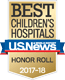 Best Children's Hospital 2016-2017 by US News & World Report